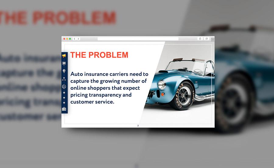 Дизайн презентации для страховой компании