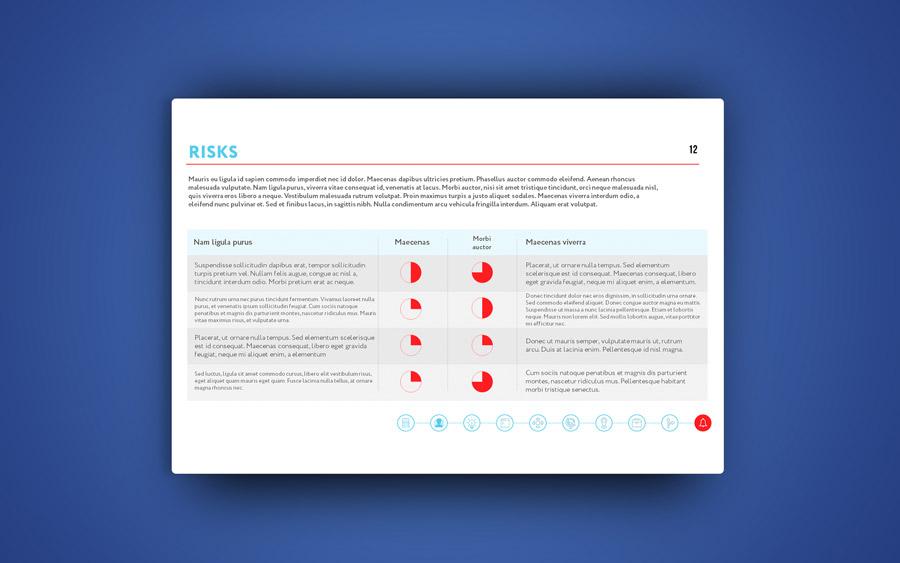 Дизайн презентации для социальной сети