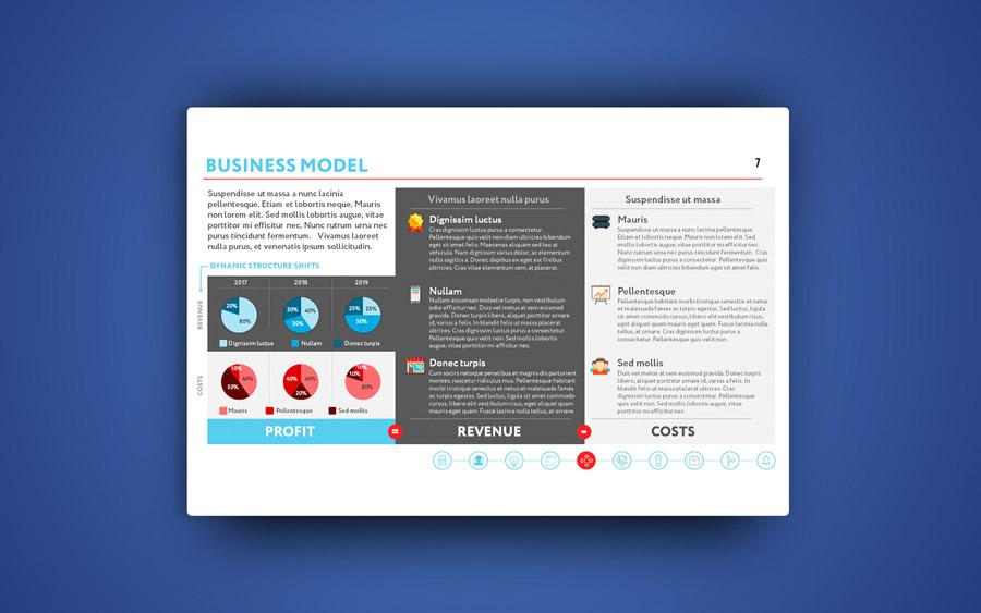 Дизайн презентации в PowerPoint для Starcket