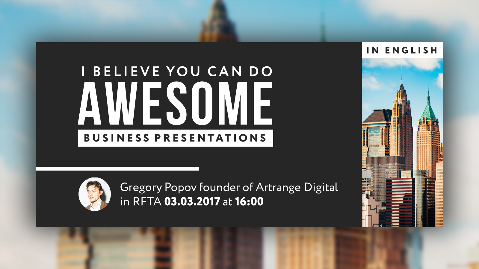 Create Awesome Business Presentations