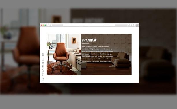 Анимационная презентация PowerPoint для мебельной сети
