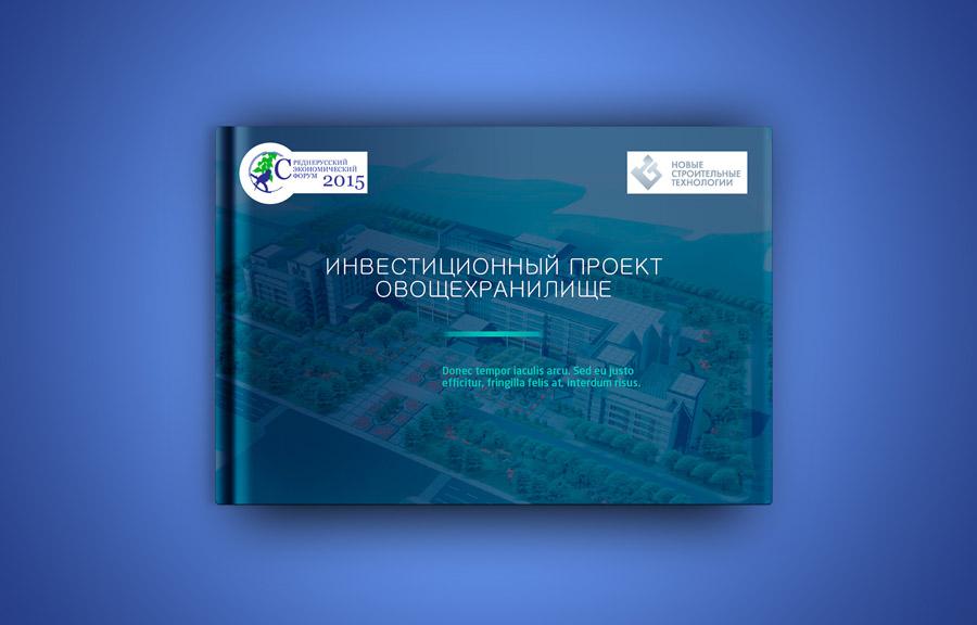 Дизайн инвестиционной презентации для форума