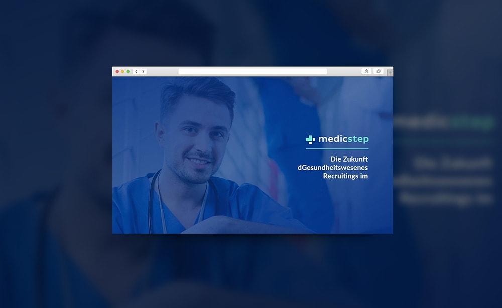 Презентация стартапа для медицинской компании Medicstep