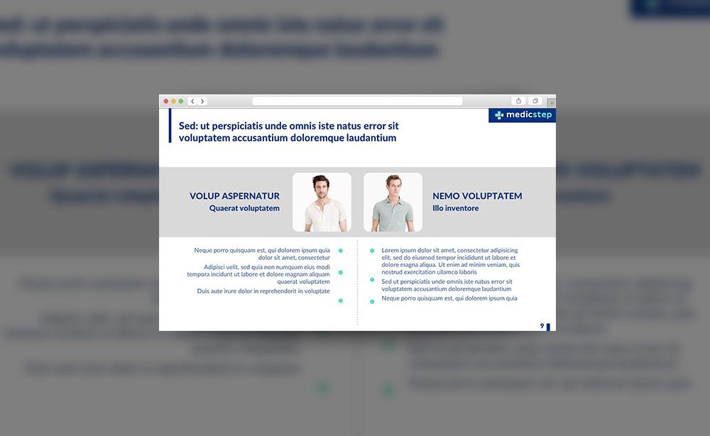 Разработка презентации для MedicStep