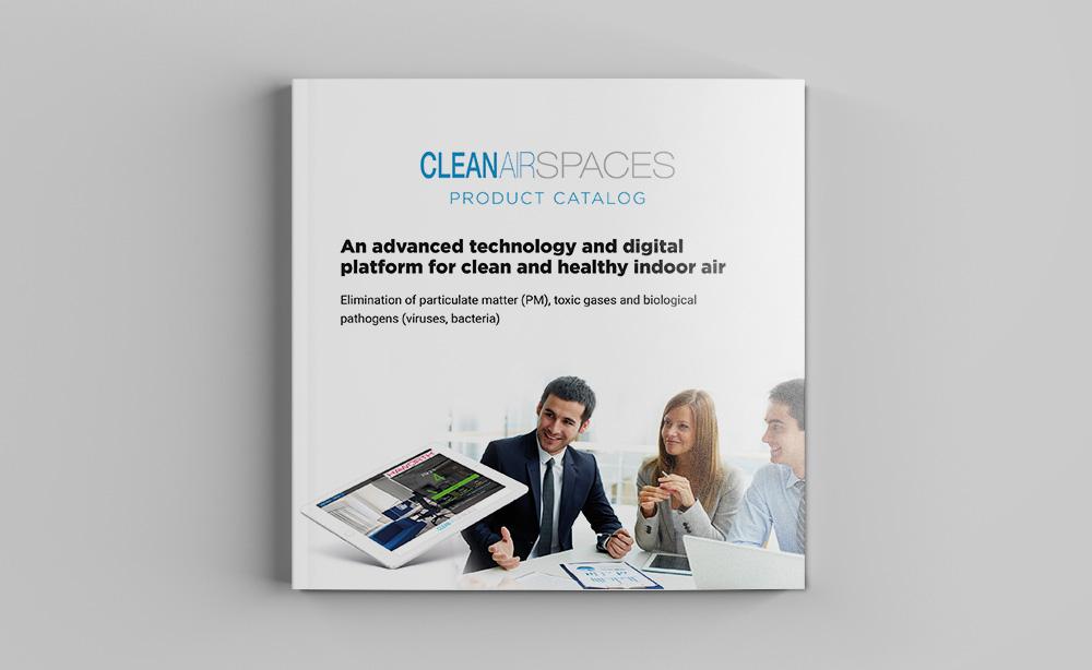 Создание брошюры для Cleanairspaces