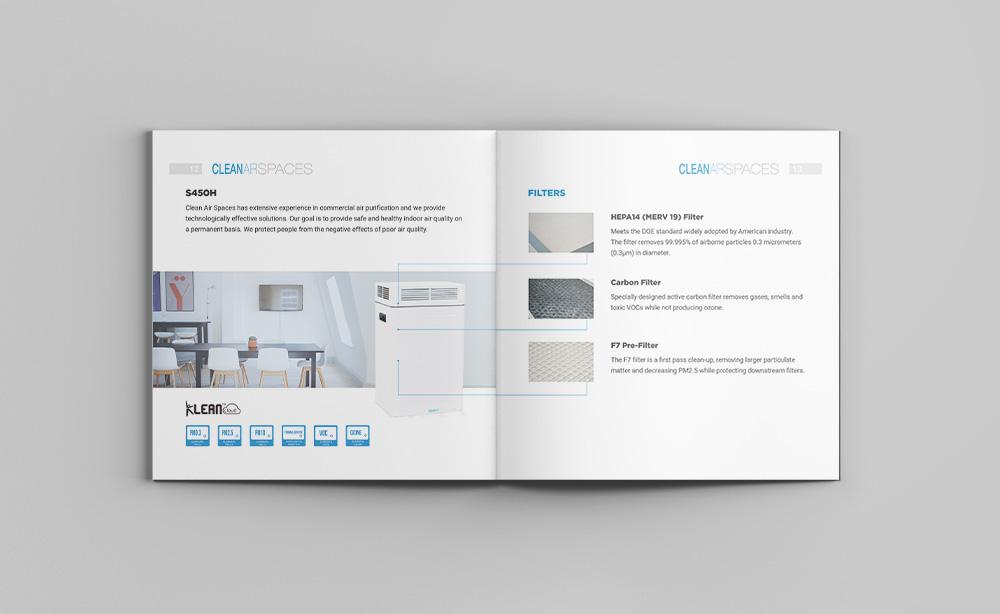 Дизайн брошюры для компании из Китая