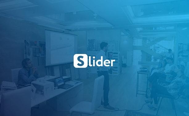 Разработка дизайна сайта для приложения Slider