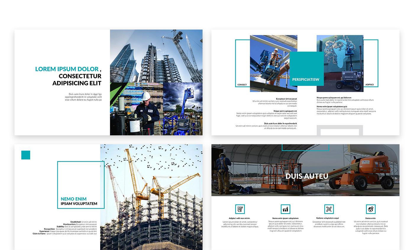 Создание презентации для строительной компании