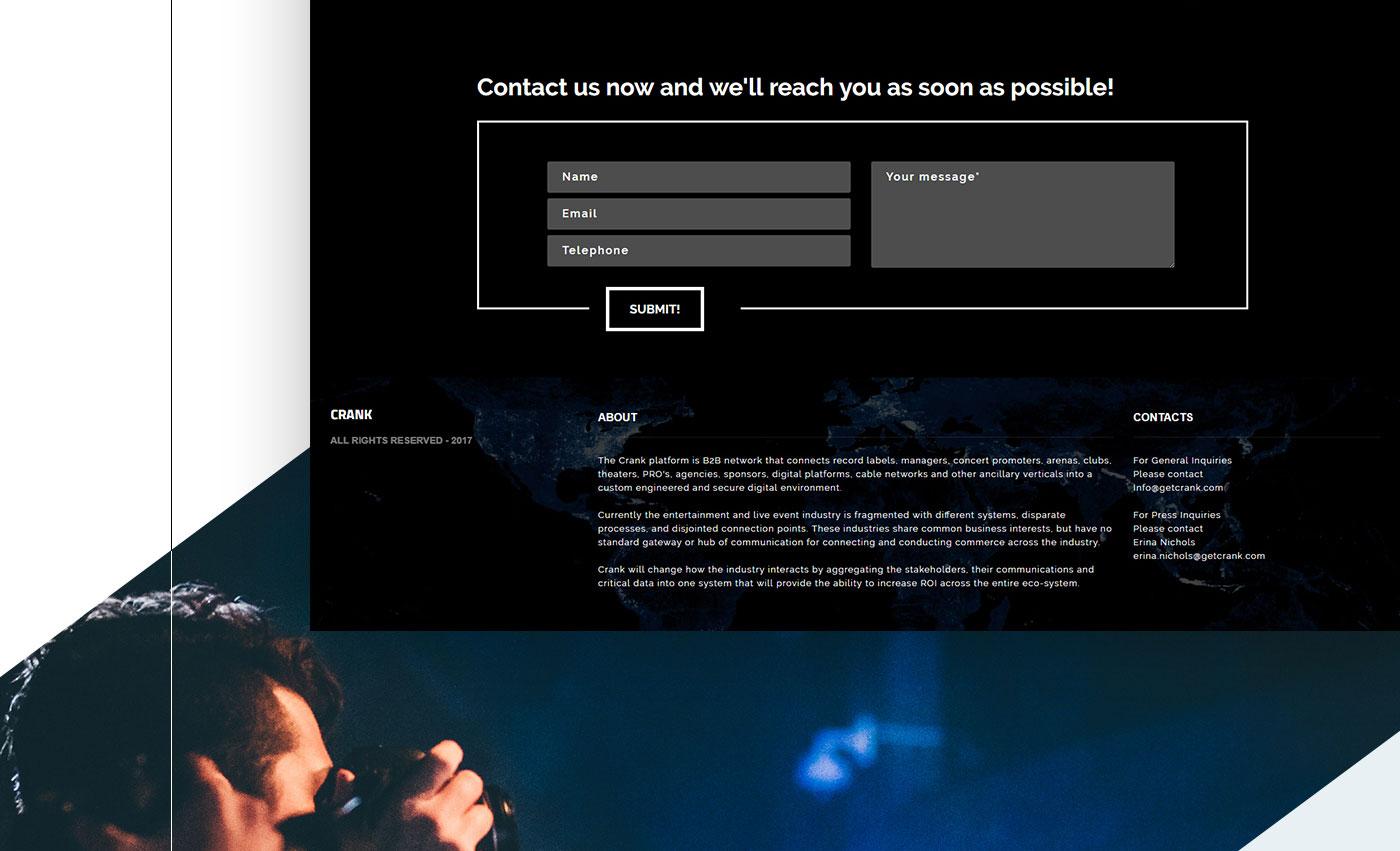 Разработка сайта для IT компании