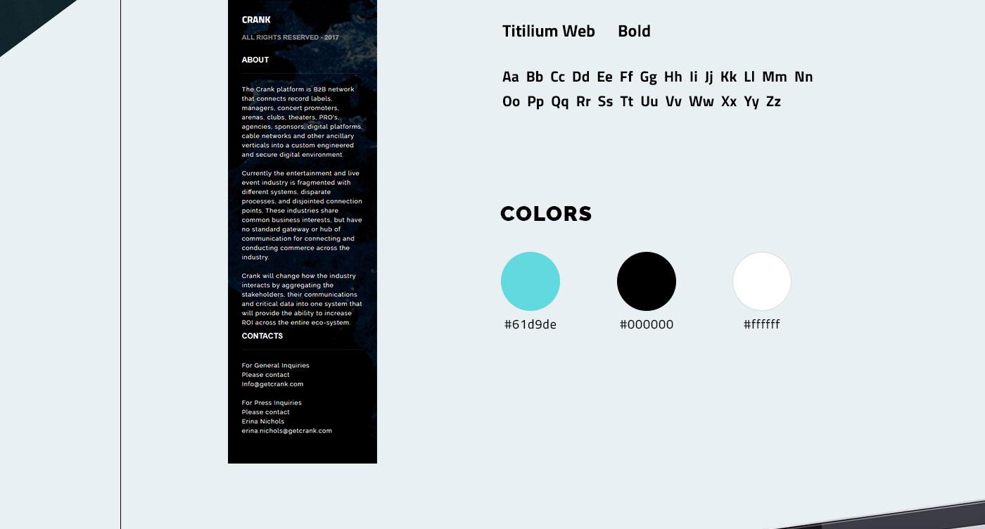 Разработка сайта для IT компании Crank