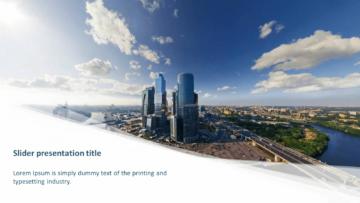 Шаблон презентации PowerPoint - Moscow Flow