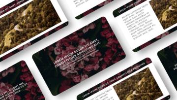 Шаблон презентации PowerPoint - Flowers
