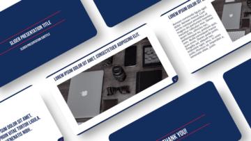 Шаблон презентации PowerPoint для отчетов - Office routine