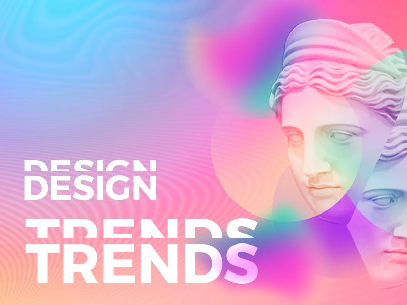 Основные тренды графического дизайна на 2019 год