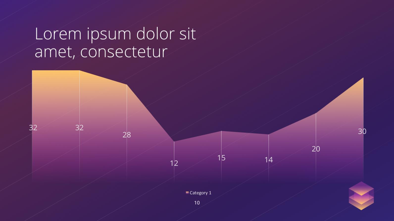 Креативный бесплатный PowerPoint шаблон с невероятными анимациями в стиле изометрии